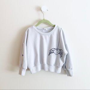 STEM kids spider sweatshirt